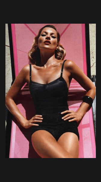 Confirmed: Kate Moss is doing Playboy