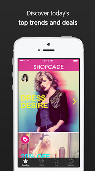 Shopcade's app proves inspiration is everywhere