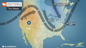 Waves of arctic air to freeze the eastern US into Valentine's Day