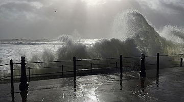 PHOTOS: Storm Imogen batters Wales, South West England with fierce winds and rough seas