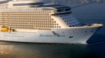 Passenger recalls experience on storm-battered Royal Caribbean cruise ship