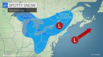 Snow to make roads slushy, icy from DC to Philadelphia, NYC through midweek