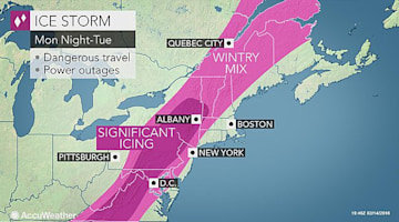 Presidents Day snow and ice storm to administer wintry travel in much of eastern US