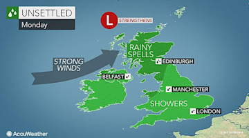 Rain, wind to disrupt travel for UK bank holiday weekend as 20 million motorists hit the road