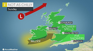 UK: Rain, wind to interfere with post-bank holiday weekend travel