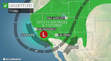 Soaking showers, storms to delay travel and disrupt activities across western US