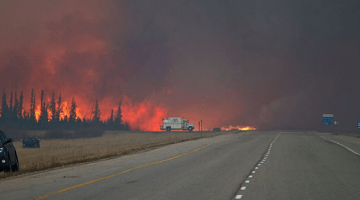 Dangerous wildfire conditions to persist in western Canada with no significant rainfall in sight
