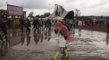 1 month until Glastonbury: Thundery showers likely to soak 5-day festival