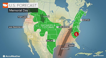 Memorial Day weekend forecast: Tropical system may jeopardize beach plans along Southeast coast