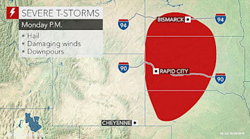 Severe storms eye US High Plains on Memorial Day