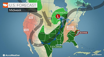 Northwestern US: Summer heat to surge back this week