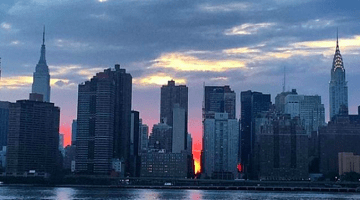 Manhattanhenge 2016: Cloudy skies hinder views of the picturesque NYC phenomenon
