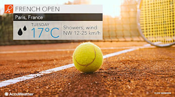 French Open: Rain to continue on Tuesday following first wash-out since 2000