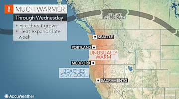Western US: Summer heat to surge this week