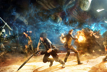 Why Final Fantasy XV's main playable characters are all men