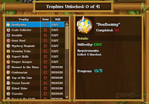My Tribe Cheats & Tips: Complete trophy list