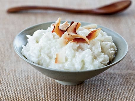 Coconut Arborio Rice Pudding