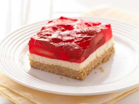 Strawberry Pretzel Squares Recipes — Dishmaps