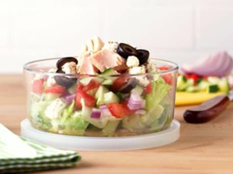 Image of Athenos Smoked Turkey & Feta Salad, Kitchen Daily