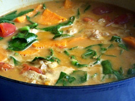 Image of African Chicken Peanut Butter Stew, Kitchen Daily