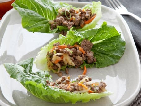 Image of Beef And Vegetable Lettuce Wraps, Kitchen Daily