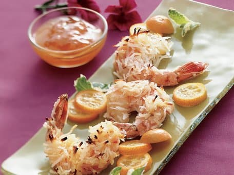 Healthified Baked Coconut Shrimp
