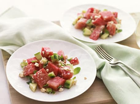 Image of Athenos Refreshing Watermelon Salad, Kitchen Daily