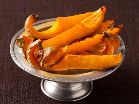 Butternut Squash Wedges with Maple Butter