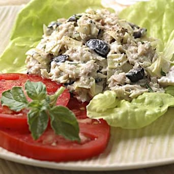 Image of Artichoke & Ripe Olive Tuna Salad, Kitchen Daily