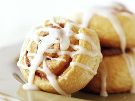 Healthified Quick Cinnamon Rolls