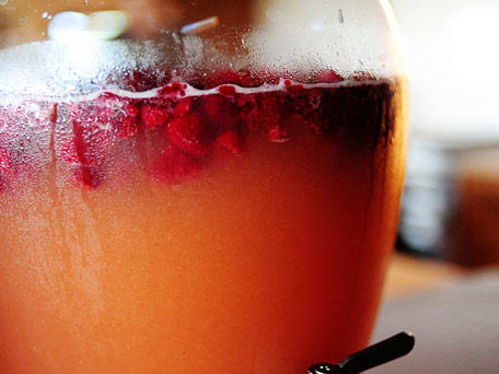 Delicious Raspberry Limeade Punch