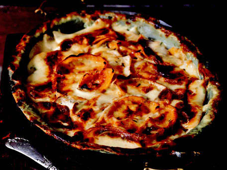 Mashed Potato And Rutabaga Gratin Recipe — Dishmaps