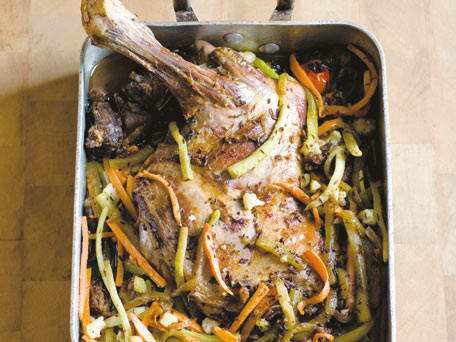 Roast Lamb Shoulder with Cumin
