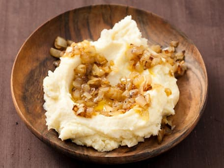 Caramelized Scallion Mashed Potatoes