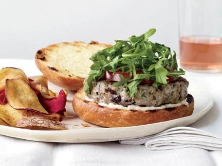 Tuna Niçoise Burgers