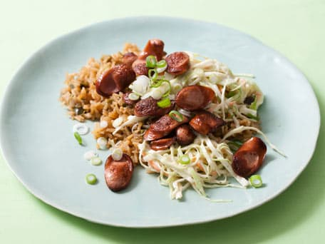 Kielbasa Cajun Dirty Rice