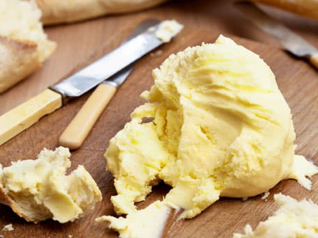 Do-It-Yourself Butter with Bread