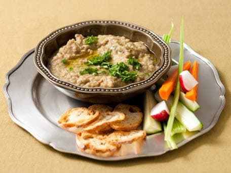 Caramelized Garlic and Eggplant Dip