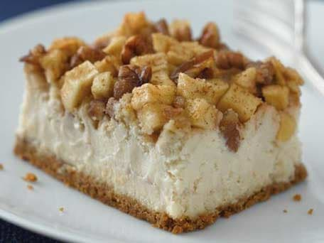 Image of Apple-pecan Cheesecake, Kitchen Daily