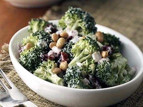 Healthified Lemon-Broccoli Salad