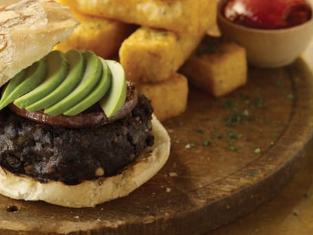 Black Bean-Chipotle Burgers