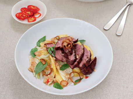 Crispy Duck & Pineapple Salad