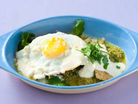 Fried Egg Chilaquiles