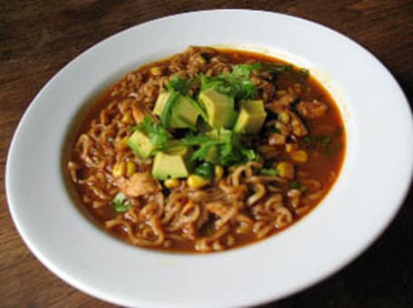 Image of Ancho Chile Chicken Ramen Soup, Kitchen Daily