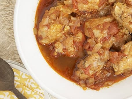 Almaz's Ethiopian Doro Wat (Chicken Curry) inspired by <i>Cutting for Stone</i>