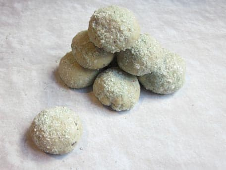Mexican Snowdrop Cookies