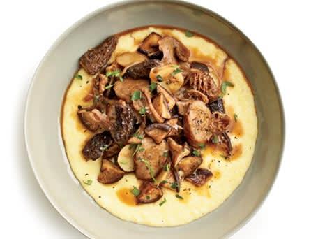 Mushroom-Sausage Ragu