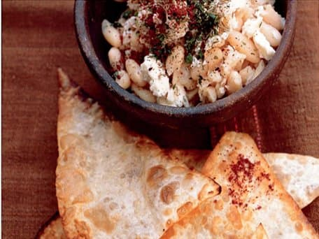 White Butter Bean, Feta and Za'atar Spread