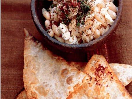 White Butter Bean, Feta and Za'atar Spread