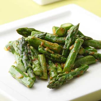 Image of Asparagus With Curry Butter, Kitchen Daily